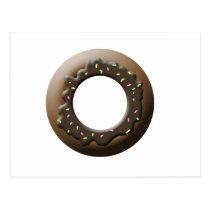 Cute Donut Postcard