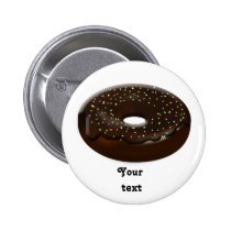 cute donuts gifts pinback button