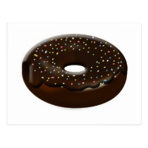 cute donuts gifts postcard