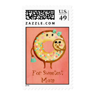 Cute Donut's Mother Love Stamp