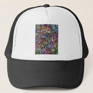 cute Doodle Trucker Hat