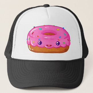 cute doughnut kawaii trucker hat