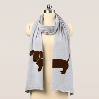 Cute Doxy Dog Scarf