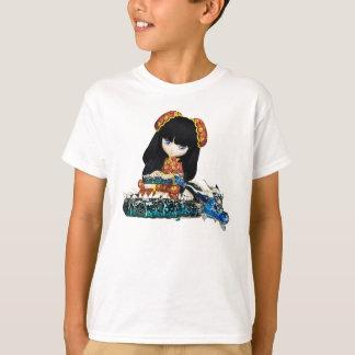 cute dragon and doll tshirt - dragon and baby