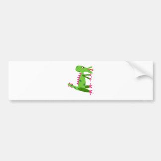 Cute Dragon Car Bumper Sticker