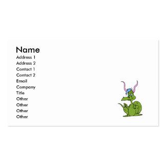 Cute Dragon Cute Business Card