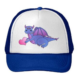 Cute Dragon Heart ( Blue - Pink -Purple ) Trucker Hat