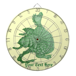 cute dragon mythical and fantasy creature art dart boards