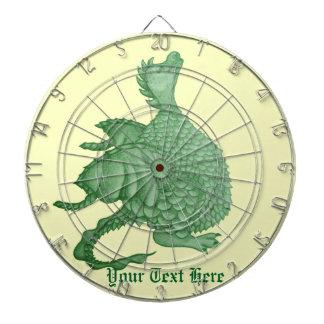 cute dragon mythical and fantasy creature art dartboard