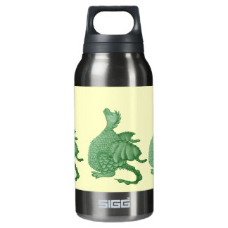 cute dragon mythical and fantasy creature art insulated water bottle