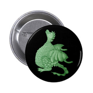 cute dragon mythical and fantasy creature art pinback button