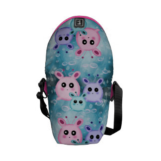 cute drawings courier bag