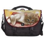 Cute Dream Kitten Laptop Commuter Bag