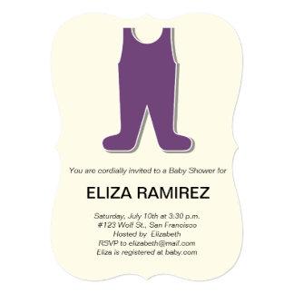 cute dress baby shower card