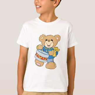 Cute Drummer Teddy Bear T-Shirt