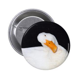 Cute Duck 2 Inch Round Button