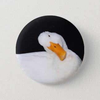 Cute Duck Pinback Button