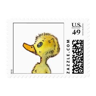 Cute Duck Stamp