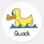 Cute Duck Stickers