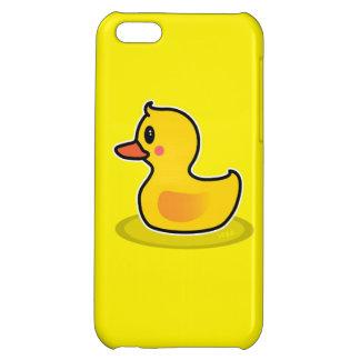 Cute Duck Swimming Cartoon iPhone 5C Cases