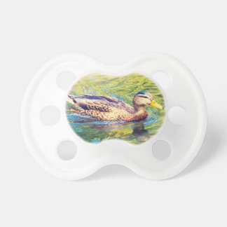 Cute Duck Swimming Pacifier