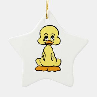 Cute Duckling/Baby Duck Ceramic Ornament