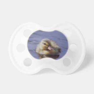 cute duckling pacifier