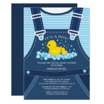 Cute Ducks Baby Shower Invitation