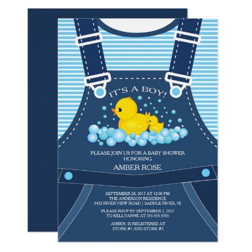Cute Ducks Baby Shower Invitation