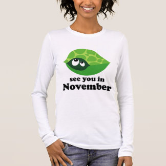 Cute Due In November Maternity T-shirt