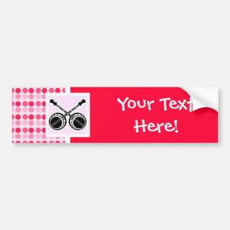 Cute Dueling Banjos Bumper Sticker