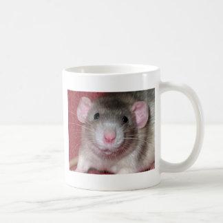 Cute Dumbo Rat Classic White Coffee Mug