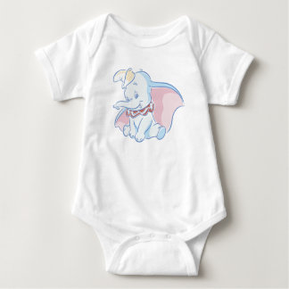 Cute Dumbo Sketch Baby Bodysuit