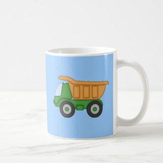 Cute Dump Truck Design Tshirt Classic White Coffee Mug