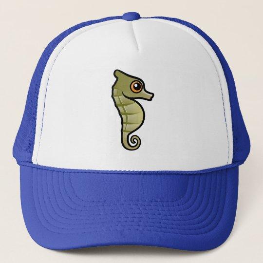 Cute Dwarf Seahorse Trucker Hat