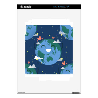 cute Earth Day Decals For iPad 2