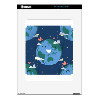 cute Earth Day iPad Decal