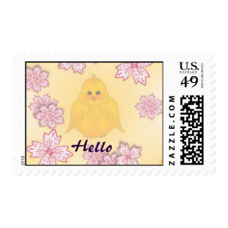 Cute Easter Baby Chicks Postage