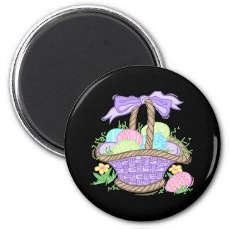 Cute Easter Basket Design Refrigerator Magnet