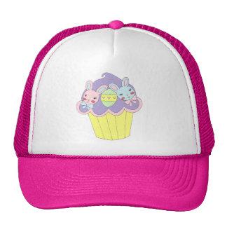 Cute Easter Bunnies Cupcake Trucker Hat
