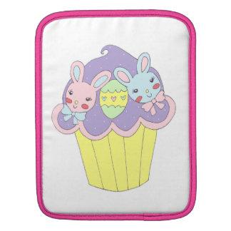 Cute Easter Bunnies Cupcake Sleeve For iPads