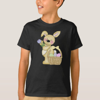 Cute Easter Bunny and Basket T-Shirt