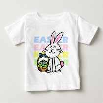 Cute Easter Bunny Baby T-Shirt
