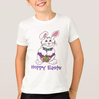 Cute Easter Bunny & Basket Tee
