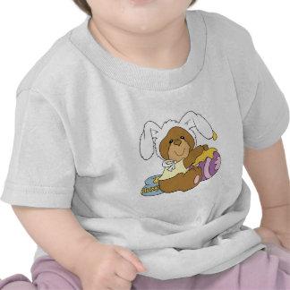 Cute Easter Bunny Bear T Shirts