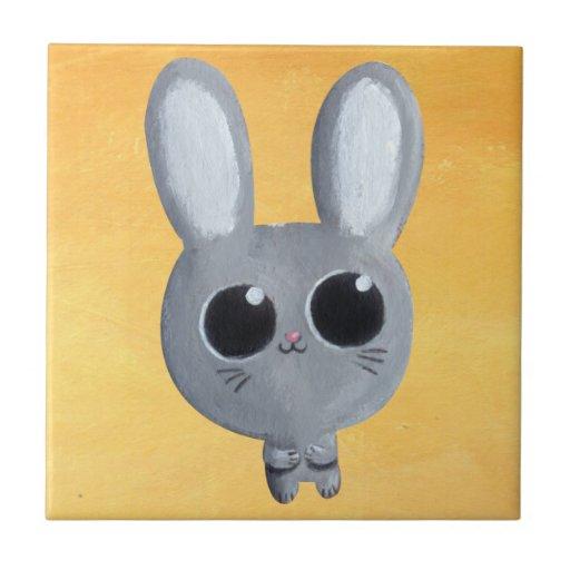 Cute Easter Bunny Ceramic Tile