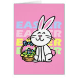 Cute Easter Bunny Greeting Cards