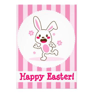 Cute Easter Bunny Invitations