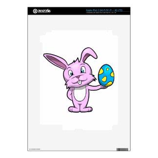 Cute Easter Bunny iPad 3 Decal