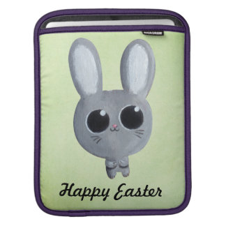 Cute Easter Bunny iPad Sleeves